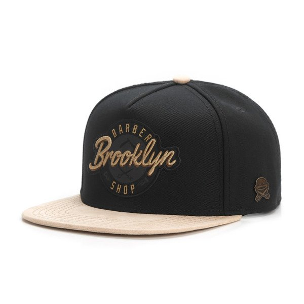 Cayler & Sons snapback BK Barber Cap black / gold CL-CAY-AW16-03