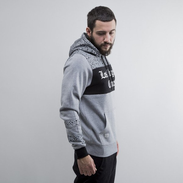 Cayler & Sons sweatshirt Crimes Hoody grey heather / black / white (CAY-SU15-AP-01)