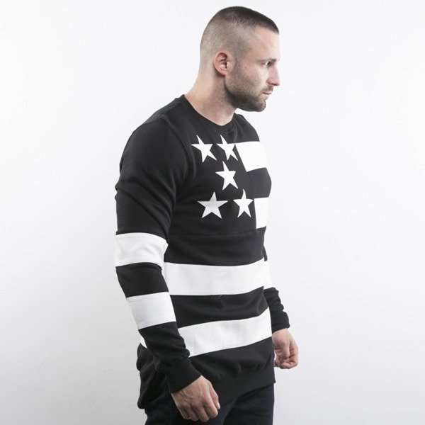 Cayler & Sons sweatshirt Super Stars Long Crewneck black / white BL-CAY-AW15-AP-10