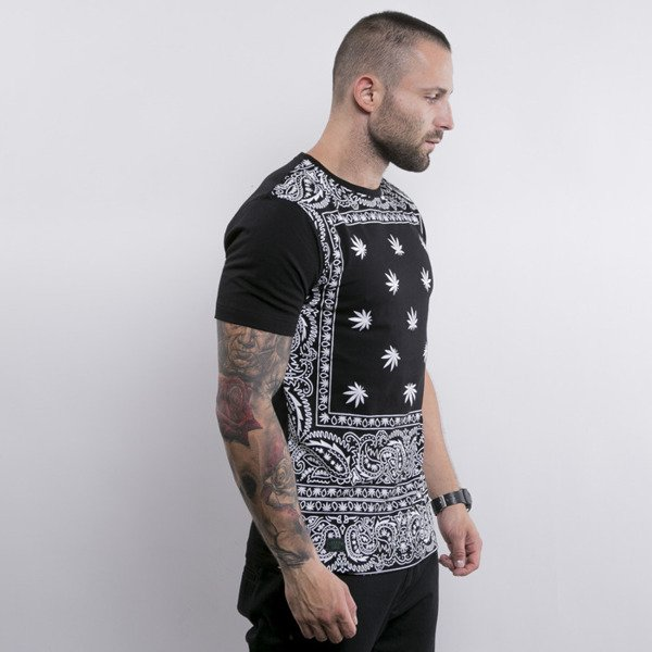 Cayler & Sons t-shirt Hazely Long black / white (GL-CAY-AW15-AP-23-01)
