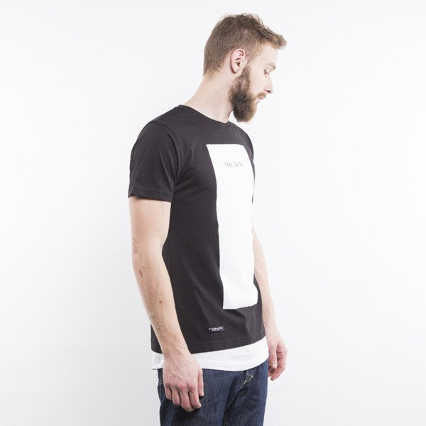 Cayler & Sons t-shirt Tres Slick Long white / black BL-CAY-AW15-AP-21-01
