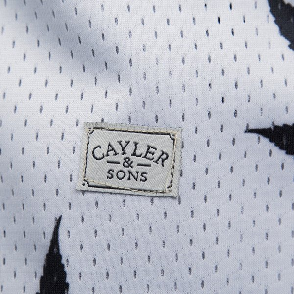 Cayler & Sons tank top Best Budz Reversible Mesh Jersey black white / white black (CAY-SU15-AP-15)