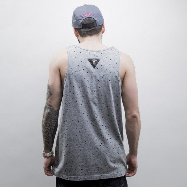 Cayler & Sons tank top Eighties Baby grey heather / white (CAY-SS15-46-01)