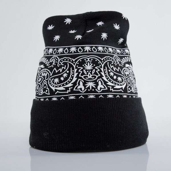 Cayler & Sons winter cap Hazely Old School Beanie black / white (GL-CAY-AW15-BN-05-OS)