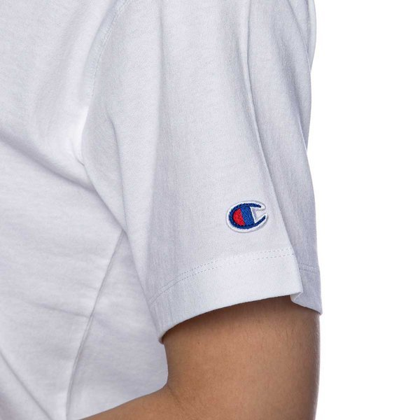 Champion T-shirt WMNS Script Logo Embroidery Maxi T-shirt white