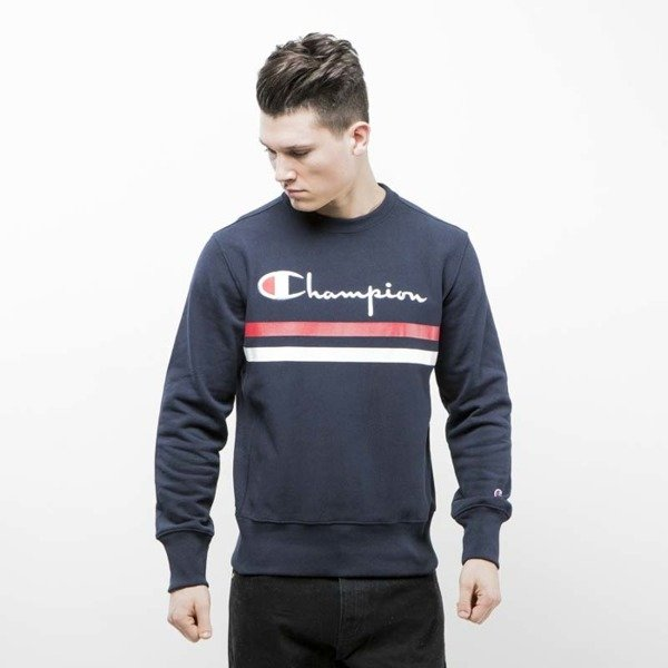 Champion sweatshirt Reverse Weave navy 210264S17-2192