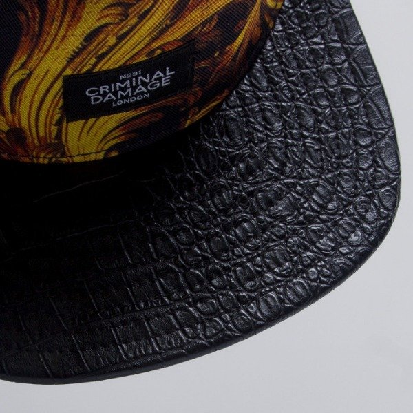 Criminal Damage snapback Barouque multi
