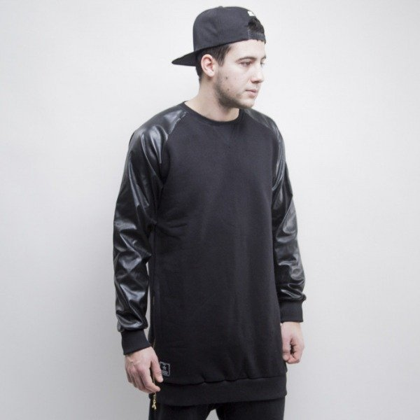 Criminal Damage sweatshirt Harlem Long black