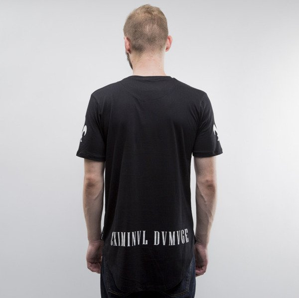 Criminal Damage t-shirt Hunter black / white