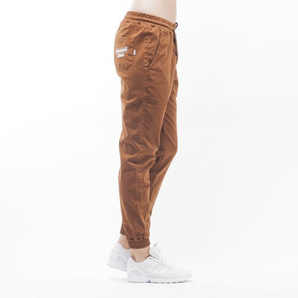 "Diamante Wear jogger pants ""Jogger Classic"" brown WMNS"