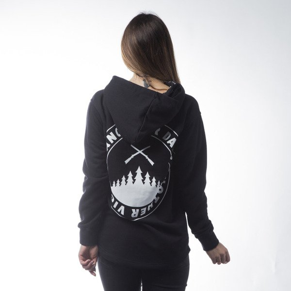 Diamante Wear sweatshirt Another Day Hoodie black WMNS
