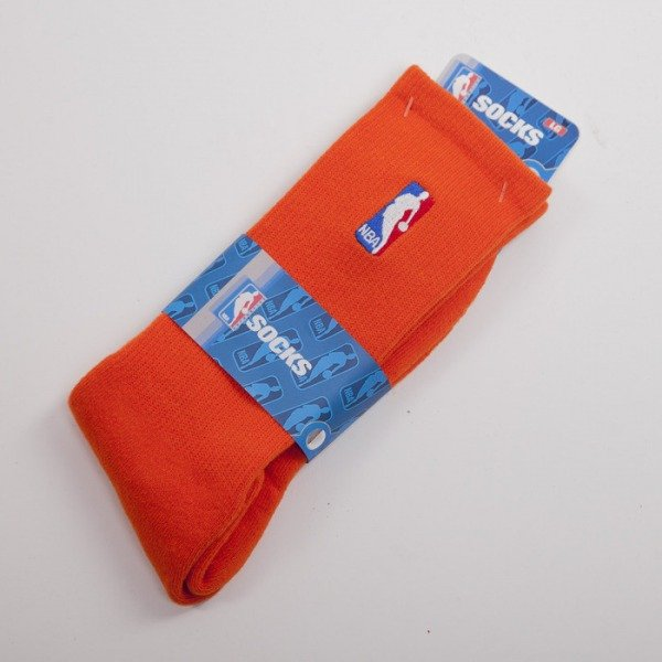 FBF socks NBA Logo orange A301