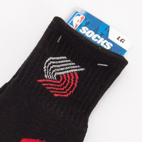 FBF socks NBA Portland Trail Blazers A501 Team Color