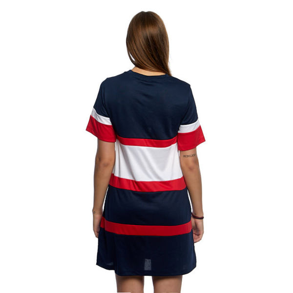 Fila Terhikka Tee Dress black iris-bright white-true red