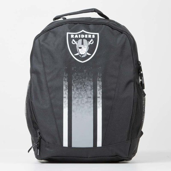 Forever Collectibles backpack Stripe Primetiame Oakland Raiders black