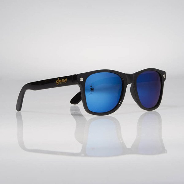 Glassy Sunhaters Sonnenbrille Deric black blue mirror