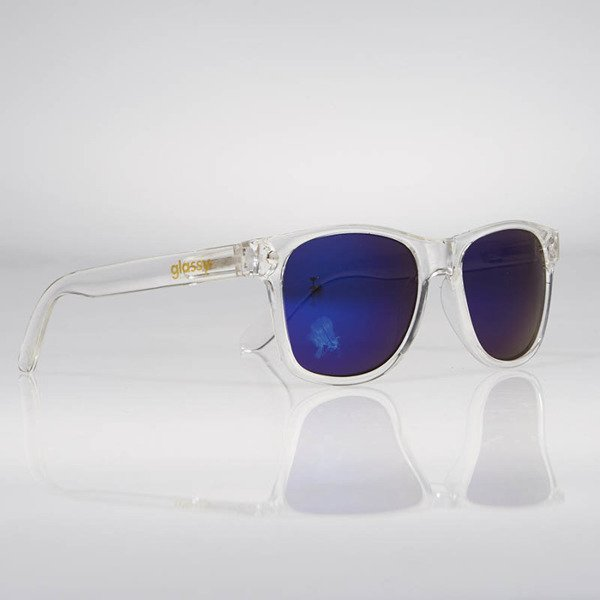 Glassy Sunhaters Sonnenbrille Leonard clear blue mirror