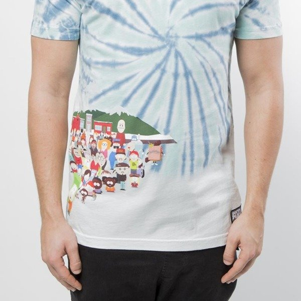 Huf SP Opening T-shirt blue SOUTH PARK EDITION