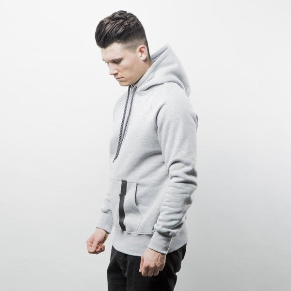 Intruz sweatshirt Arch Hoodie grey hather