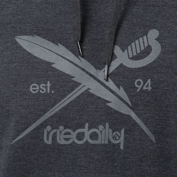 Iriedaily Daily Flag Hooded anthra