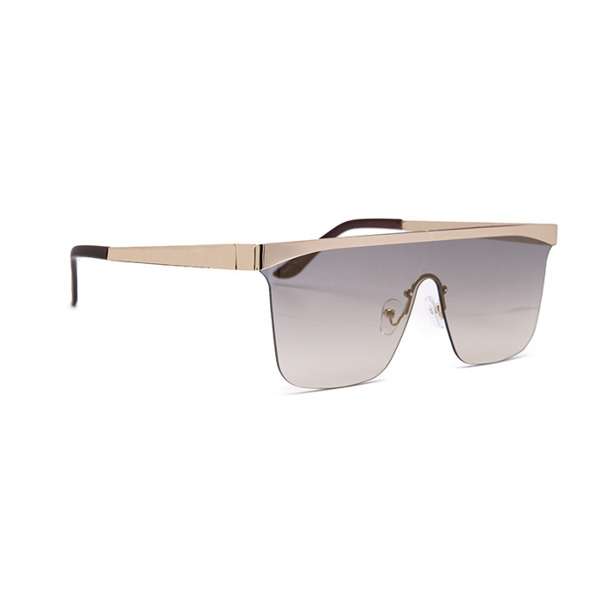Jeepers Peepers Sunglasses Gold Visor (JP18329)