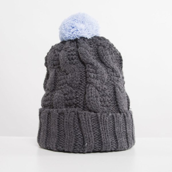 Jungmob  Jelly Beanie dark grey