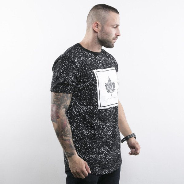 K1X t-shirt Speckle Leaf Long-T black