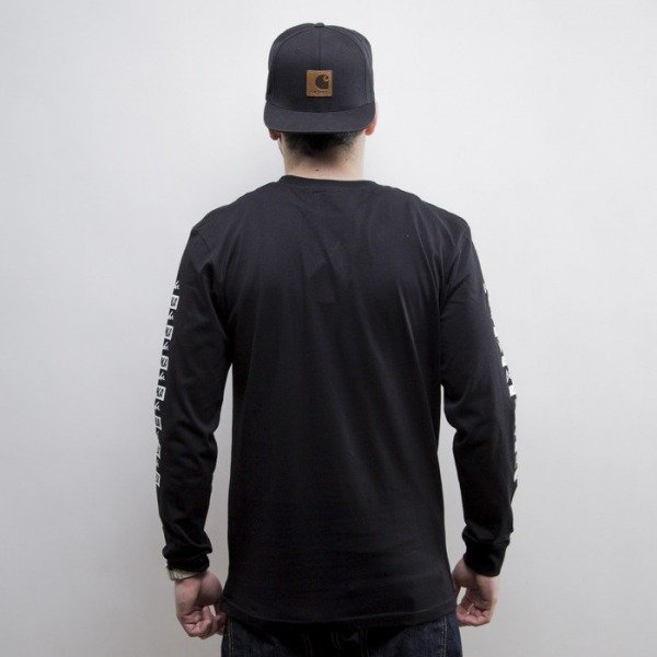 KOKA longsleeve Repeat black