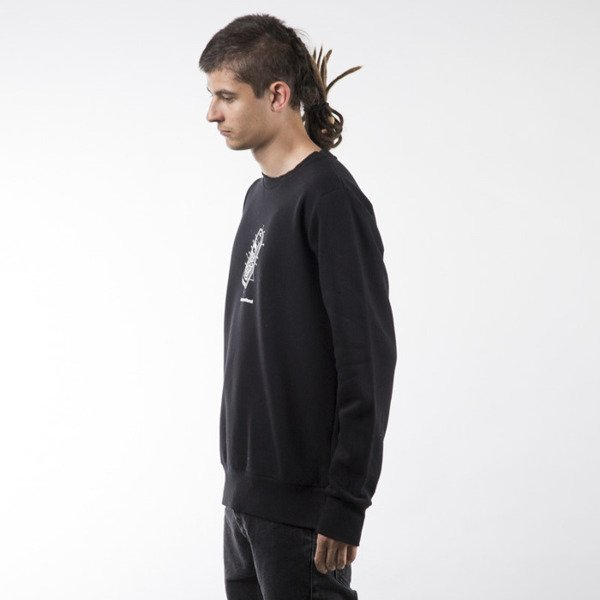 Koka sweatshirt Mobile crewneck black