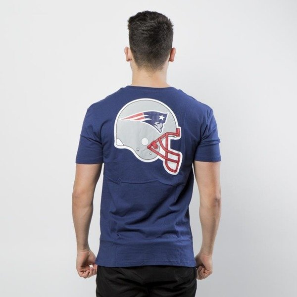 Majestic Athletic NFL Helmet Logo Tee New England Patriots - navy