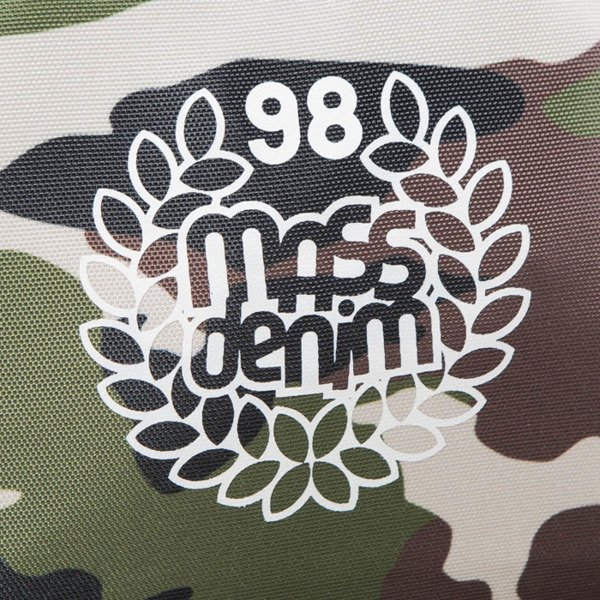 Mass Denim Bacpack Base woodland camo