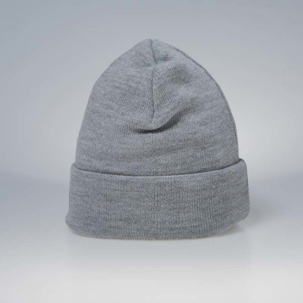Mass Denim Base Beanie light heather grey