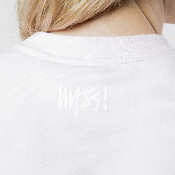 Mass Denim Sweatshirt Crewneck Signature WMNS light pink