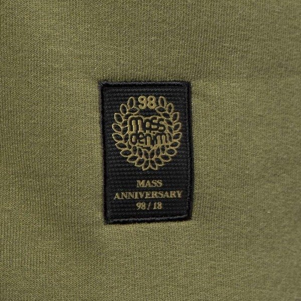 Mass Denim Sweatshirt Crewneck Signature khaki