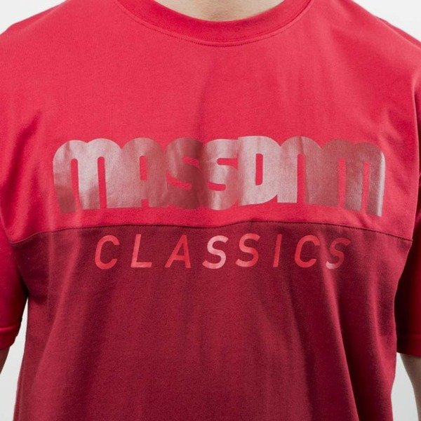 Mass Denim T-shirt Classics Cut claret / red SS 2017