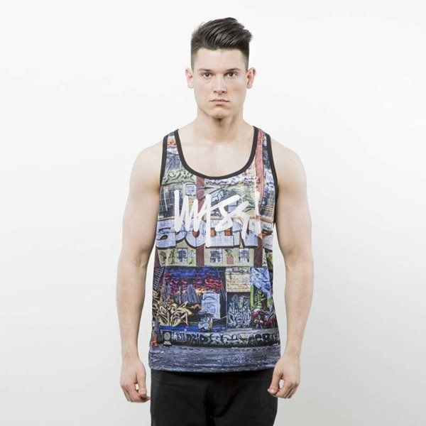 Mass Denim Tank Top R.I.P. 5Pointz multicolor SS 2017
