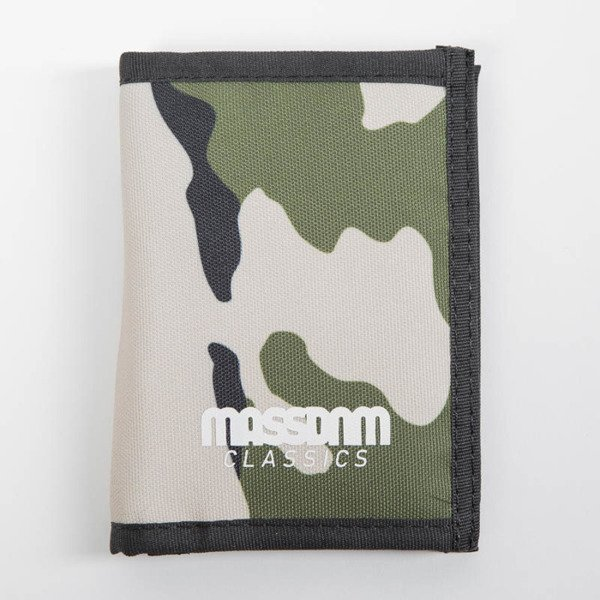 Mass Denim Wallet Classics woodland camo