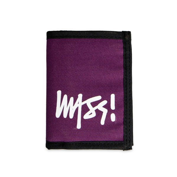 Mass Denim Wallet Signature purple