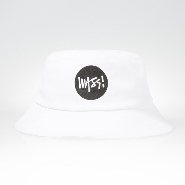 Mass Denim bucket hat Signature white