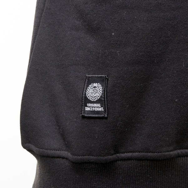 Mass Denim sweatshirt Pocket Cover crewneck black