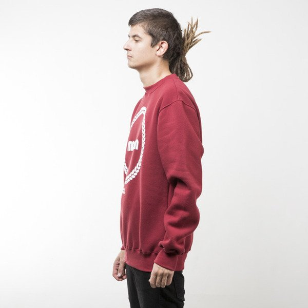 Mass Denim sweatshirt Ring crewneck claret