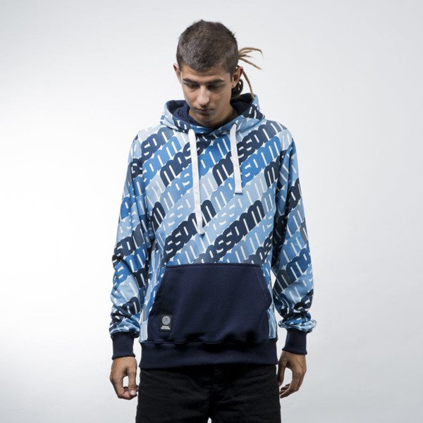 Mass Denim sweatshirts Multiply hoody navy