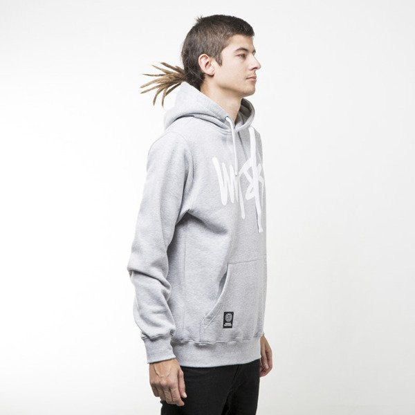 Mass Denim sweatshirts Signature Hoody light heather grey