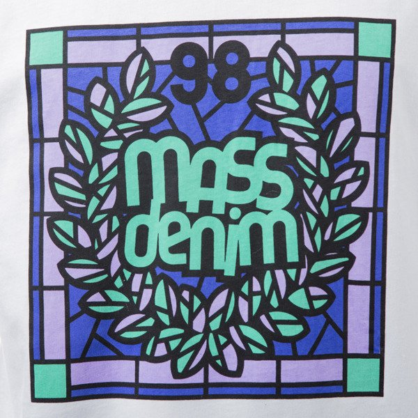 Mass Denim t-shirt Glassy white