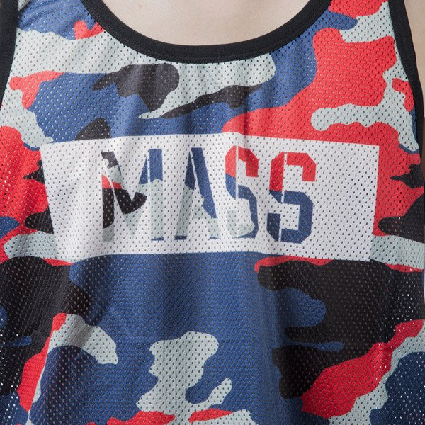 Mass Denim tank top koszulka Battle navy camo