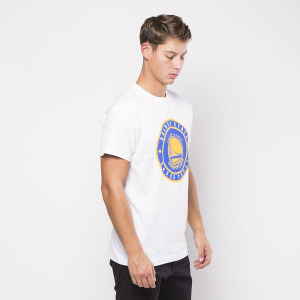Mitchell & Ness Golden State Warriors T-shirt white Circle Patch