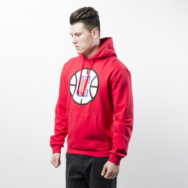 Mitchell & Ness Los Angeles Clippers red Team Logo Pullover Hoody