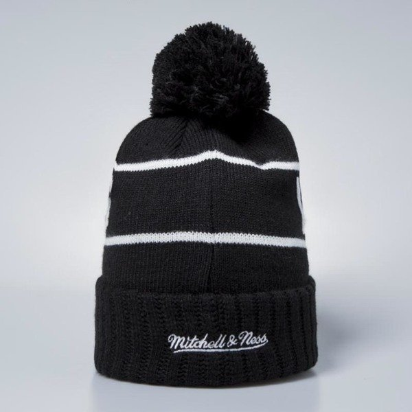Mitchell & Ness Los Angeles Lakers Beanie black / white Glow In The Dark Pom Knit