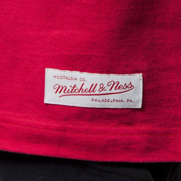 Mitchell & Ness Own Brand T-shirt red / white M&N Script Logo Traditional