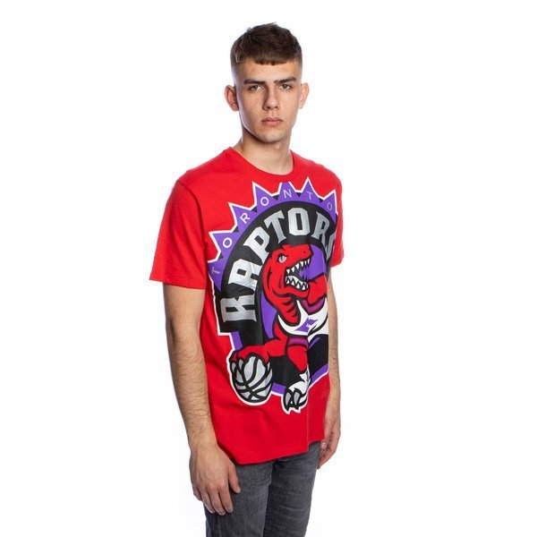 Mitchell & Ness T-shirt Toronto Raptors red Big Face